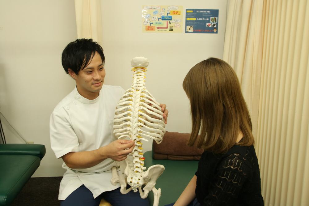 産後の不調を姿勢も含めて改善させます